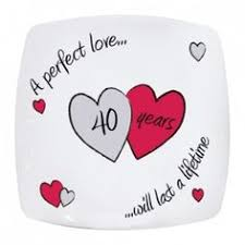 anniversary plates happy anniversary plate from personalised gifts shop only 15 95
