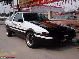 subaru india not much but apparently there is a toyota ae86 in india with