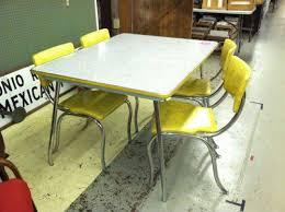 retro yellow kitchen table yellow retro kitchen table and chairs yellow formica table retro