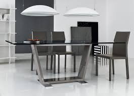 Rocket Dining Table Dining Tables Contemporary Dining Furniture - Black and white contemporary dining table