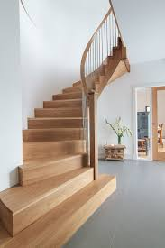 Curved Stairs Design Bespoke Staircase Design Stair Manufacture And Professional