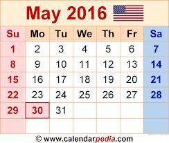 may 2016 calendar holidays 2017 printable calendar