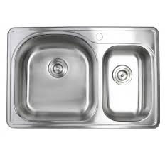 Top Kitchen Sink 33 Inch Stainless Steel Top Mount Drop In Single Bowl Kitchen Sink