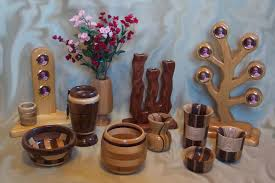 home made decoration things hand made wooden vases and deco wood vase holders pinterest