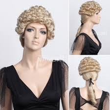 long curly hair style for lawyer fashion long curly hair wigs lawyers judges golden curls wig cosplay