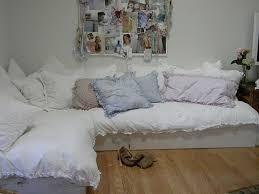Shabby Chic Slipcovered Sofa Inspiration Idea Shabby Chic Sofas With Shabby Chic Cottage