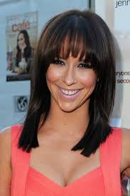 hair styles for pointy chins bangs by face shape youbeauty com