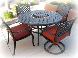 round outdoor table round table with 2 dining chairs and 2 swivel