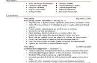 Police Resume Samples by Download Police Resume Examples Haadyaooverbayresort Com
