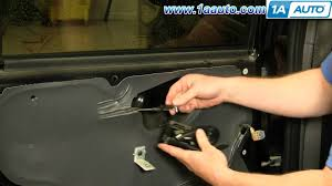 Ford Fusion Interior Door Handle Replacement How To Install Replace Rear Inside Door Handle Ford Escape Mercury