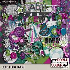 new years kits lang syne digital scrapbooking collab kit new year s day