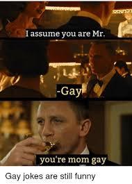 You Re Gay Meme - l assume you are mr ga you re mom gay funny meme on esmemes com