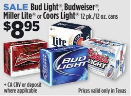 bud light for sale melissa s coupon bargains dollar general bud light budweiser