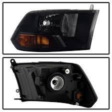 2015 dodge ram 1500 tail light bulb replacement 16 dodge ram 1500 2500 3500 crystal replacement headlights black