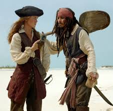 elizabeth swann and jack sparrow does this damn compass even work