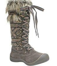 s yeti boots flat 0 to 1 2 in fur mukluks yeti boots for ebay