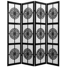 Metal Room Dividers by Barreta 6 Ft Black 3 Panel Room Divider Sg 79b The Home Depot