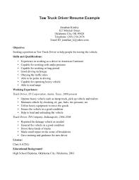 Monster Resume Sample by Truck Driver Resumes Virtren Com