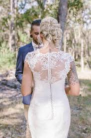 picture of relaxed outdoor rustic vintage wedding