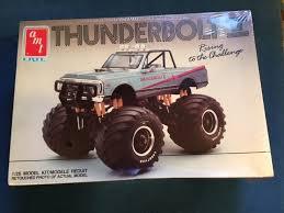 amt ertl thunderbolt ii 1 25 model kit 6931 chevy monster truck
