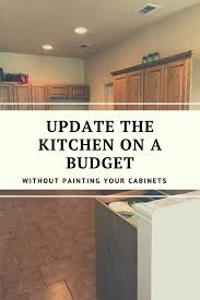 what paint to use on oak cabinets how to update wood cabinets no painting