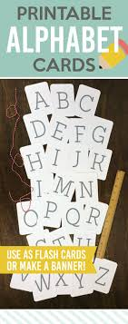 printable alphabet letter cards free printable alphabet cards paperelli craftaholics anonymous