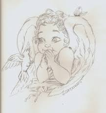 nikki u0027s angels angel art sketches