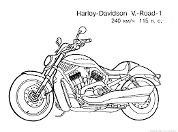 motorcycle color pages best printable motorcycle coloring pages