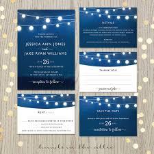 royal blue wedding invitations royal blue wedding invitation set printable stationery