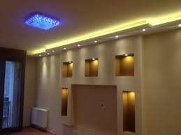 Media Room Lighting Fixtures Drywall Built In Media Wall With Hidden Lights By Www Drywell Hu