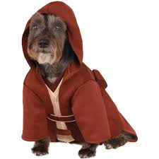 dog clothes for halloween star wars jedi robe costume for pets buycostumes com
