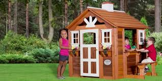 Backyard Cedar Playhouse by 5 Best Playhouses To Keep Kids Entertained Reviews Of 2017