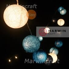 blue string lights for bedroom blue string lights cotton balls fairy lights bedroom home