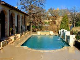 backyard with pool design ideas modern pool design for backyard