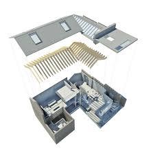 exploded floor plan hidden house chelsea london lts architects