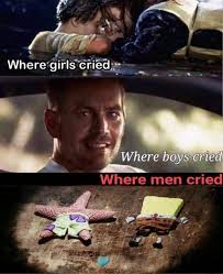When Boys Meme - where girls cried now that we re men know your meme