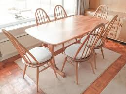 Ercol Dining Room Furniture Extraordinary Ercol Dining Table And Chairs For Sale 37 In Glass
