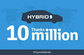 toyota hybrid logo toyota sold more than 10 million hybrid vehicles to date