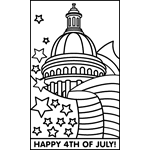 independence day u s free coloring pages crayola com