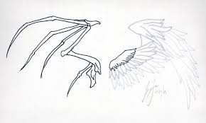 wings of heaven and hell by garicosdesign on deviantart
