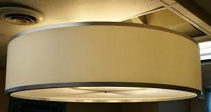 inspirational large drum pendant light 32 on pendant lighting over