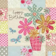 flowers u0026 butterflies birthday card large luxury birthday card