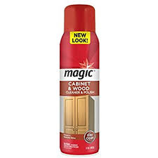 Best Polish For Kitchen Cabinets Amazon Com Magic Cabinet U0026 Wood Clean U0026 Shine 14 Fl Oz Health
