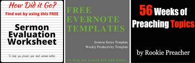 a step by step approach to efficient sermon preparation