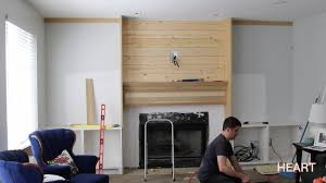 Fireplace Storage by Diy Built Ins Part 1 Withheart Youtube