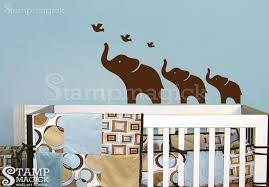 Nursery Wall Decal Elephants Wall Decal For Nursery K014 Stmagick Wall Decals