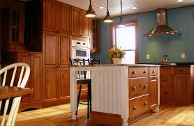 mission style kitchen island design home improvement restoration