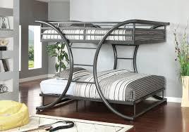 queen over queen bunk bed furniture modern bunk beds design