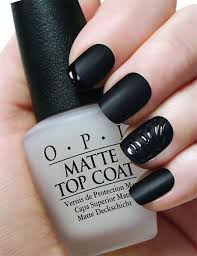 stylish black nail designs you can do yourself nail art matte