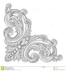 decoration frame corner vector illustration 32484070 jpg 1300